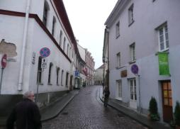 Entering the old Jewish ghetto